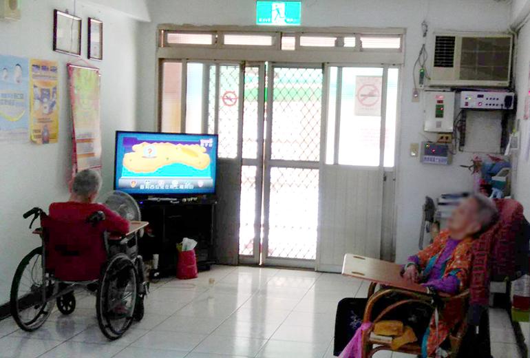 基隆市私立宏欣老人養護中心-休息區
