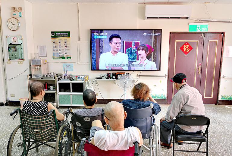 基隆市私立宏安老人長期照顧中心(養護型)-休息區