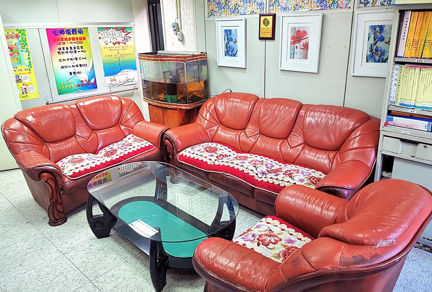 臺北市私立群英老人長期照顧中心(養護型)-客廳1
