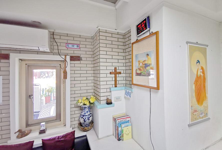 台北市私立倚青苑老人養護所-休息區