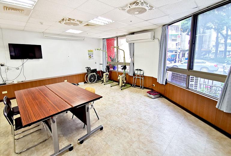 臺北市私立仁群老人長期照顧中心(養護型)-活動空間