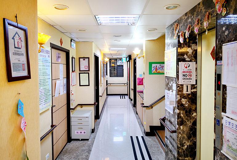台北市私立祥寶尊榮老人長期照顧中心(養護型)-走道區
