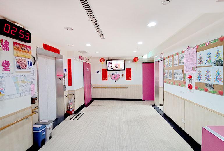 台北市私立永安老人養護所-走道區