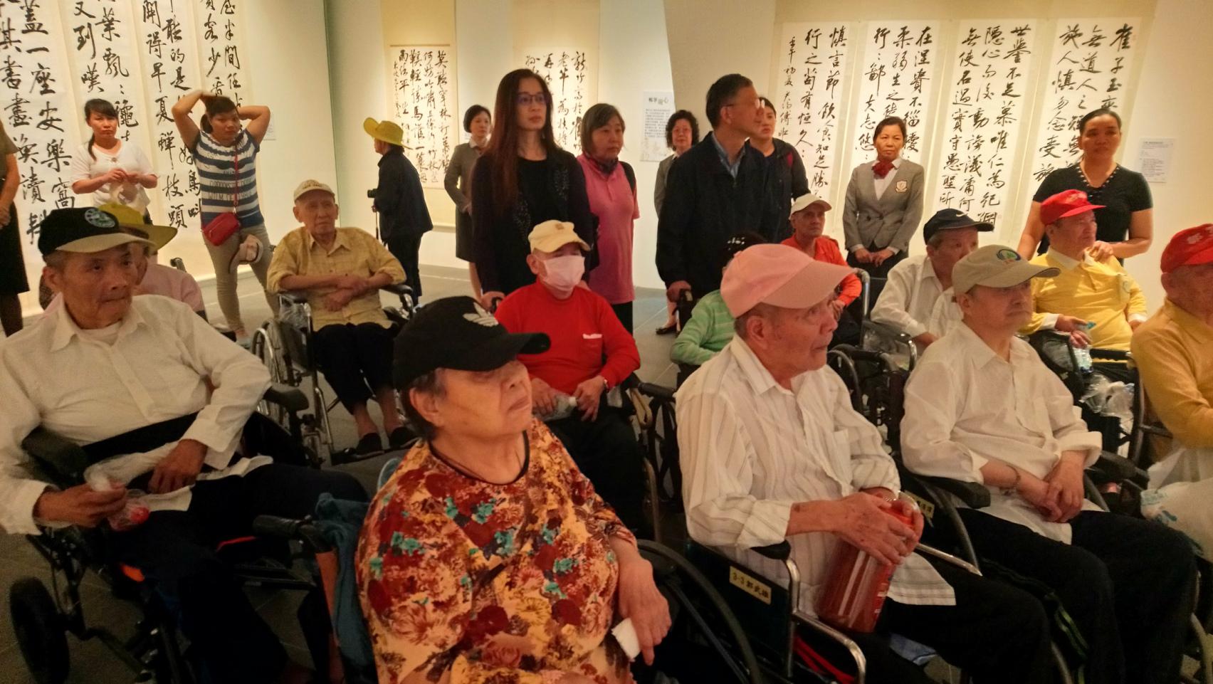 台北市私立中山老人長期照顧中心(養護型)-室內活動