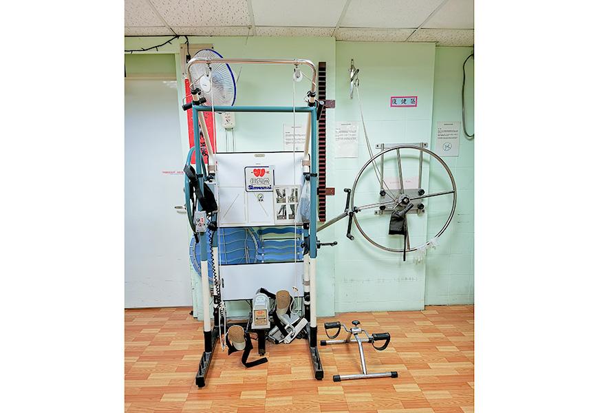 臺北市私立瑞安老人長期照顧中心(養護型)-復健器材