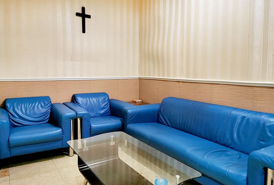 新北市領袖天下老人長期照顧中心-休息區