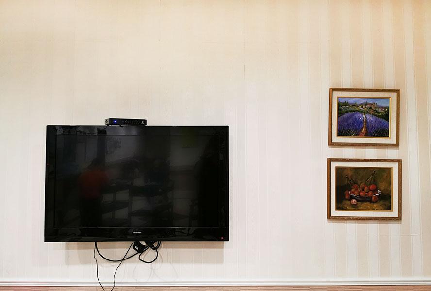 新北市領袖天下老人長期照顧中心-電視