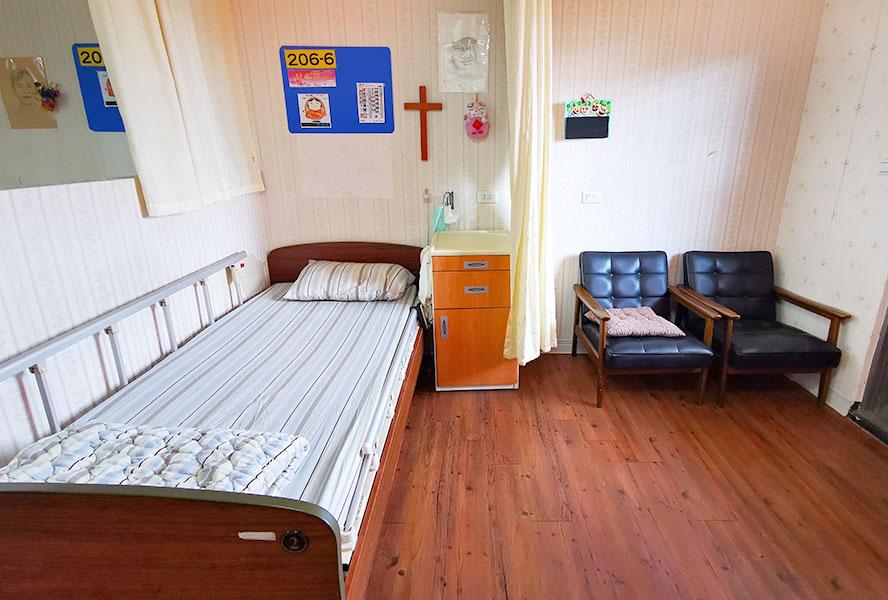 新北市領袖天下老人長期照顧中心-房間