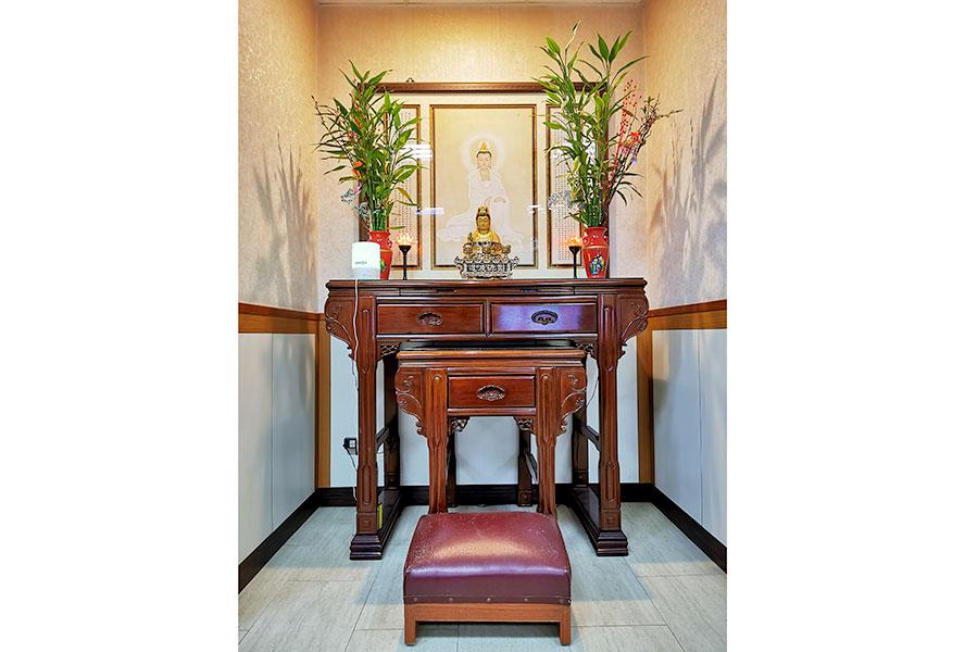 新北市私立安馨老人長期照顧中心(養護型)-宗教室
