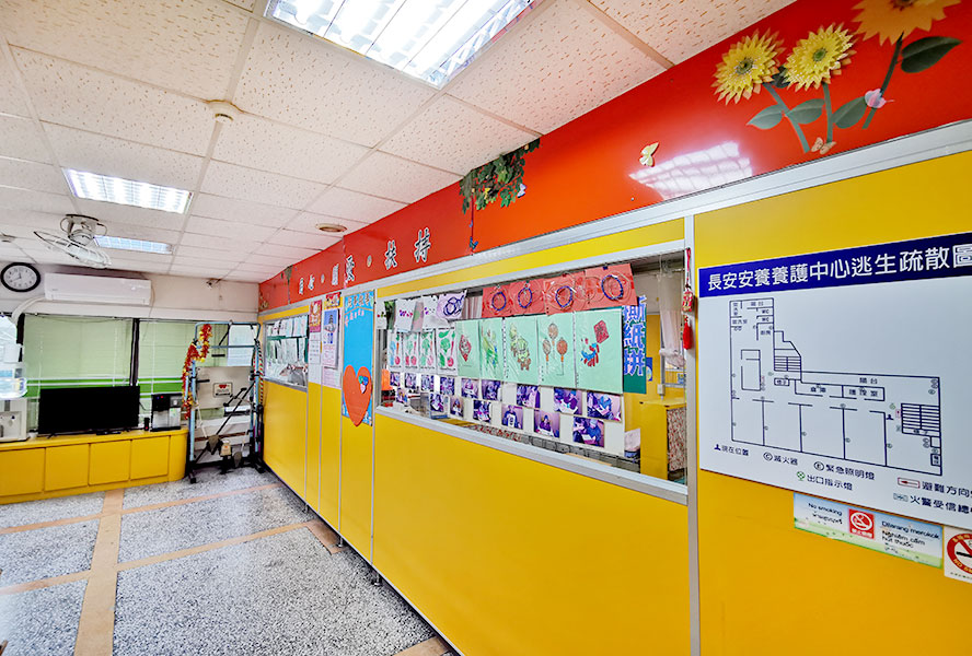 桃園市私立長安老人長期照顧中心(養護型)-室內環境2