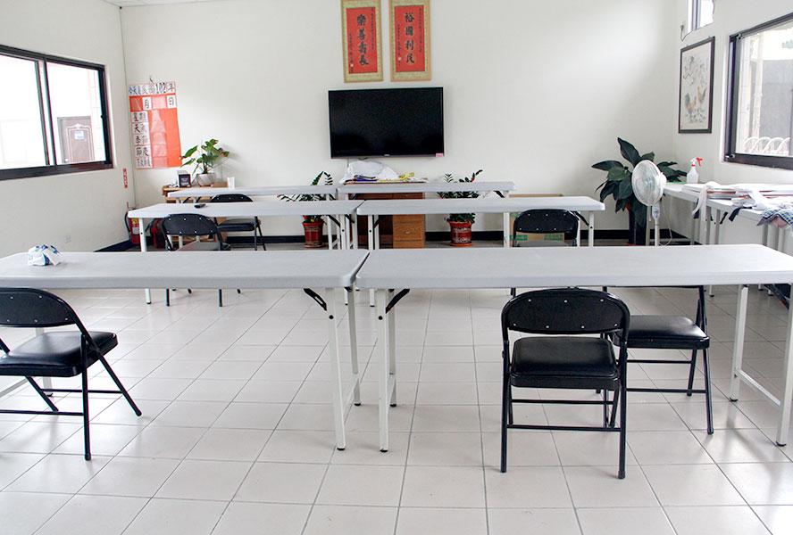 桃園市私立慈園老人長期照顧中心(養護型)-客廳1
