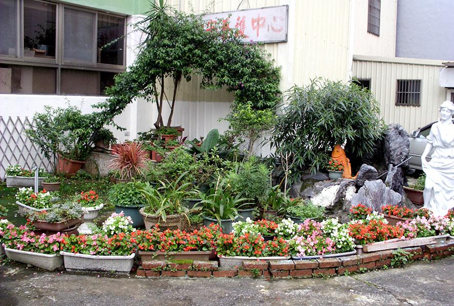 桃園市私立佳心老人長期照顧中心(養護型)-花園