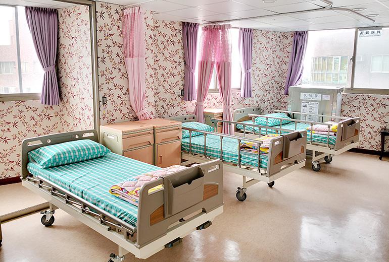 新北市私立尚樂老人長期照顧中心(養護型)-房間1