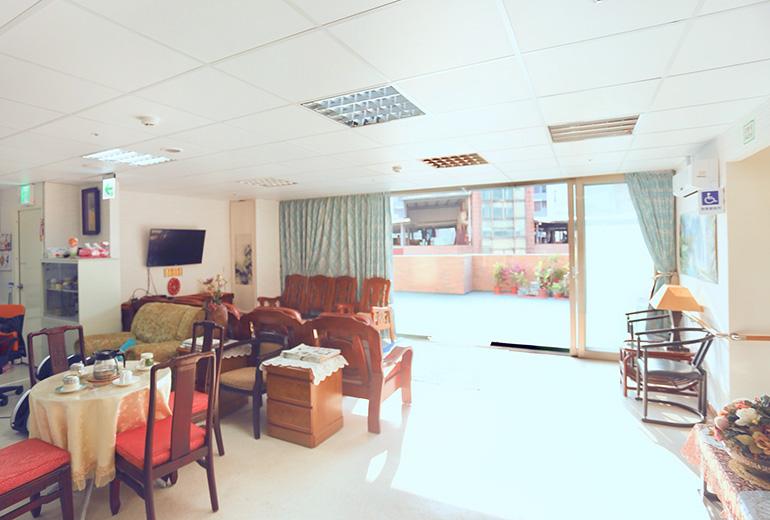 新北市私立尚樂老人長期照顧中心(養護型)-休息區2