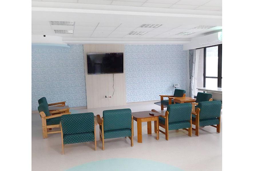 南投縣私立和泰護理之家-休息區1
