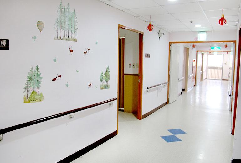台中市長瑞護理之家-走廊