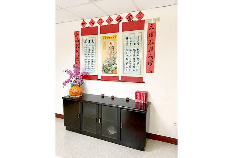 台中市長瑞護理之家-宗教室
