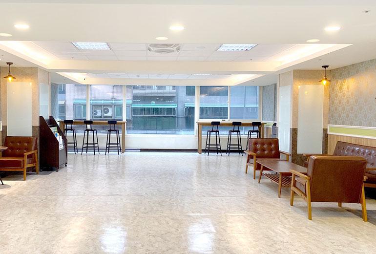樂融長照社團法人附設新北市私立永和住宿長照機構室內空間