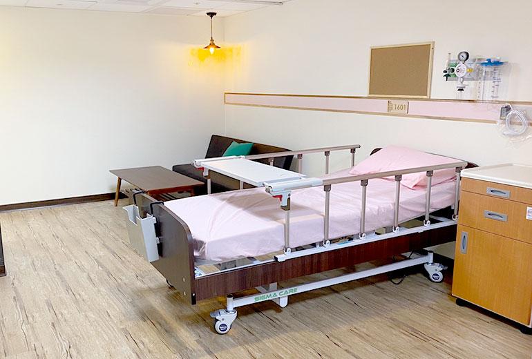 樂融長照社團法人附設新北市私立永和住宿長照機構房間