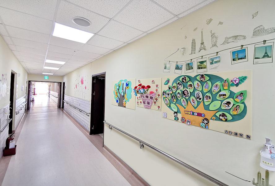 吉安醫院附設護理之家走廊