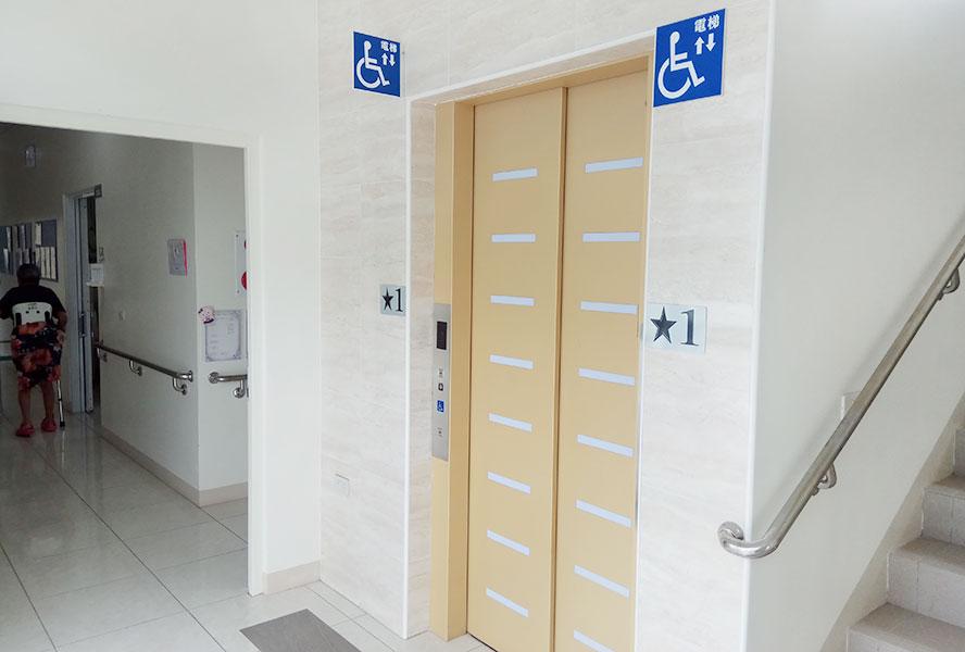 臺南市私立藤龍老人長期照顧中心電梯