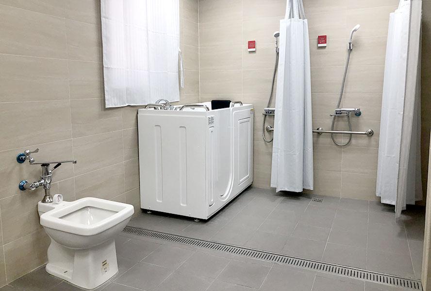 和頌長照社團法人附設桃園市私立和頌住宿長照機構走入式浴缸