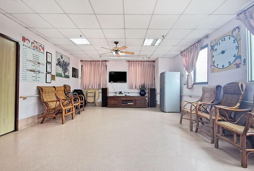 台中市泰安老人養護中心客廳