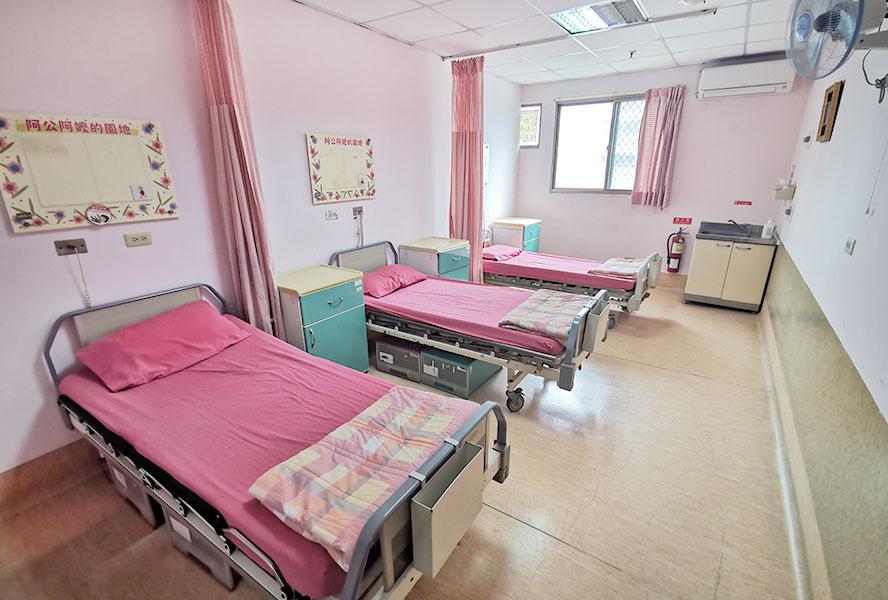台中市泰安老人養護中心房間