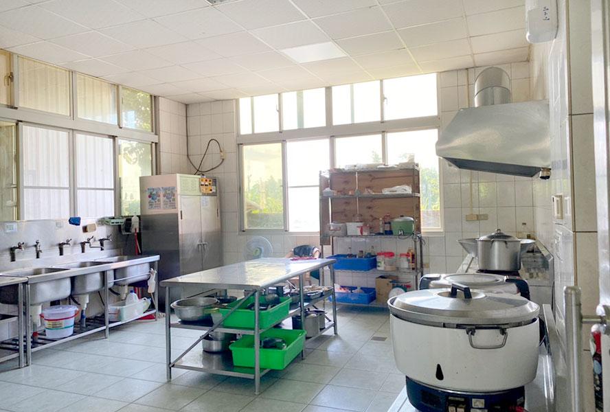 台南市辰安護理之家廚房