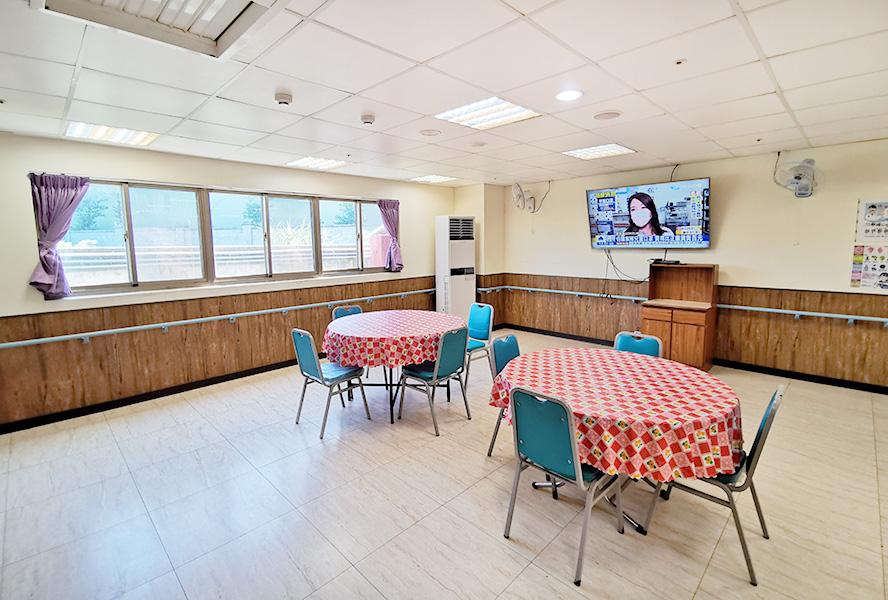 新北市私立仁惠老人長期照顧中心(養護型)-休息區