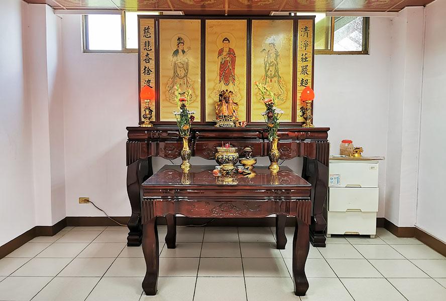 臺南市官田老人養護中心-宗教室2