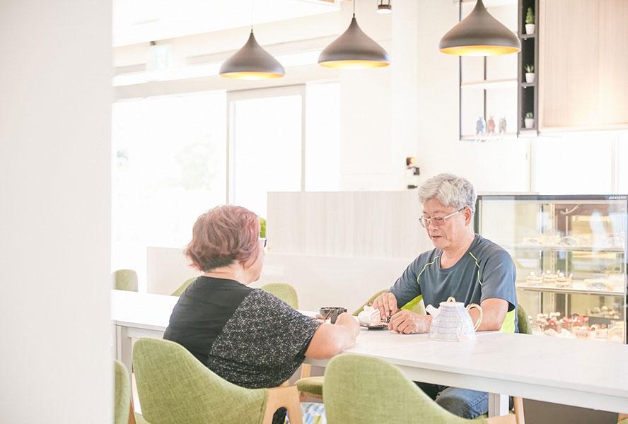 彰化縣私立大眾學苑社區式長照機構(日間照顧中心)-下午茶