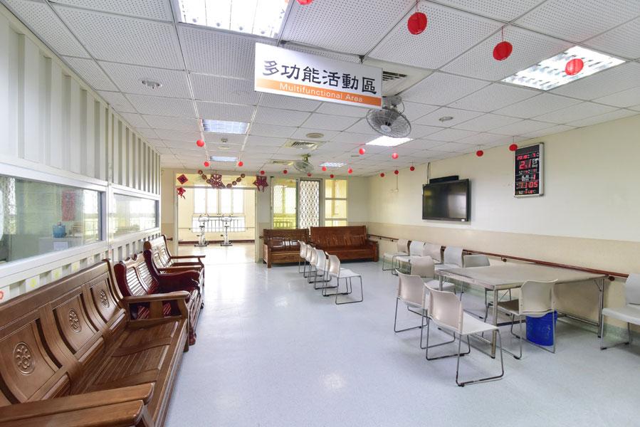 台中市信和精神護理之家-休息區
