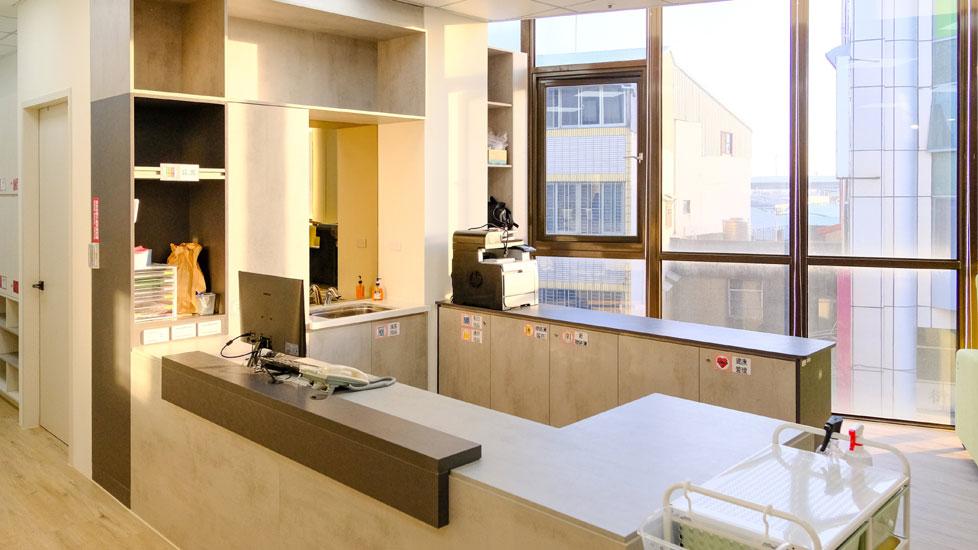 青松健康股份有限公司附設私立豐南綜合長照機構-廚房
