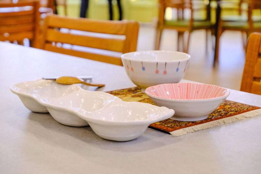 青松健康股份有限公司附設私立豐南綜合長照機構-餐桌