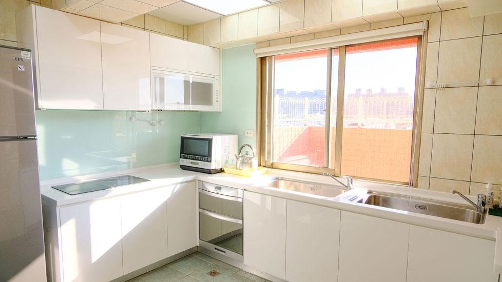 青松健康股份有限公司附設私立樹義社區長照機構-廚房