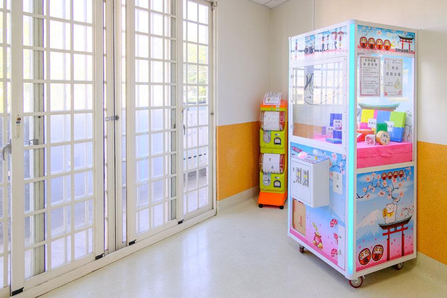 青松健康股份有限公司附設私立松竹社區長照機構-遊戲區