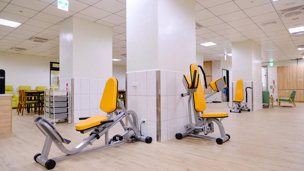 青松健康股份有限公司附設私立上和社區長照機構-復健區