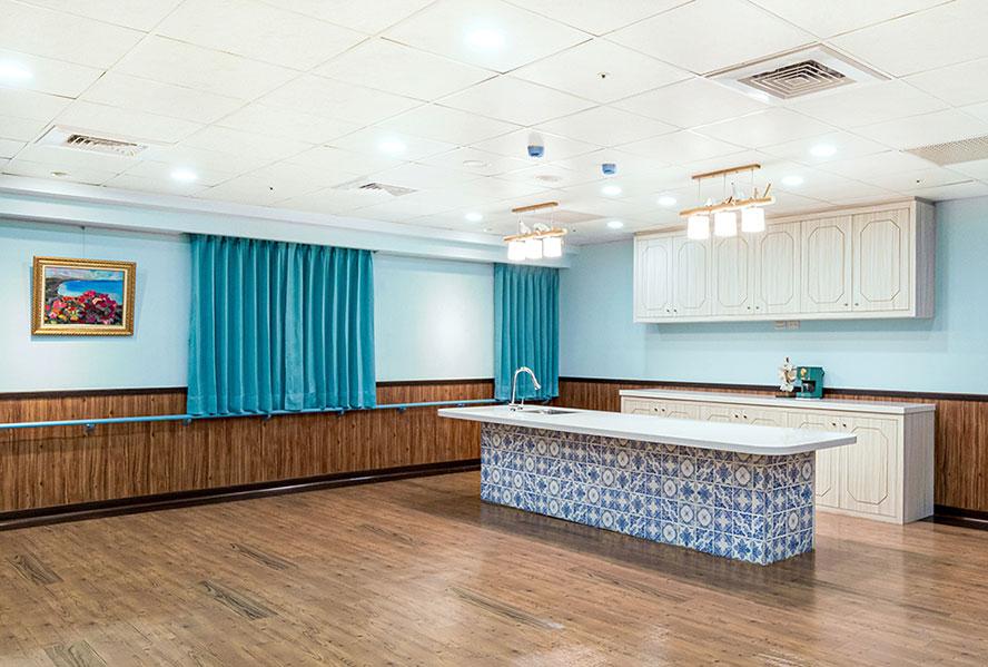 和安長照社團法人附設新北市私立和安住宿長照機構-烹調教室