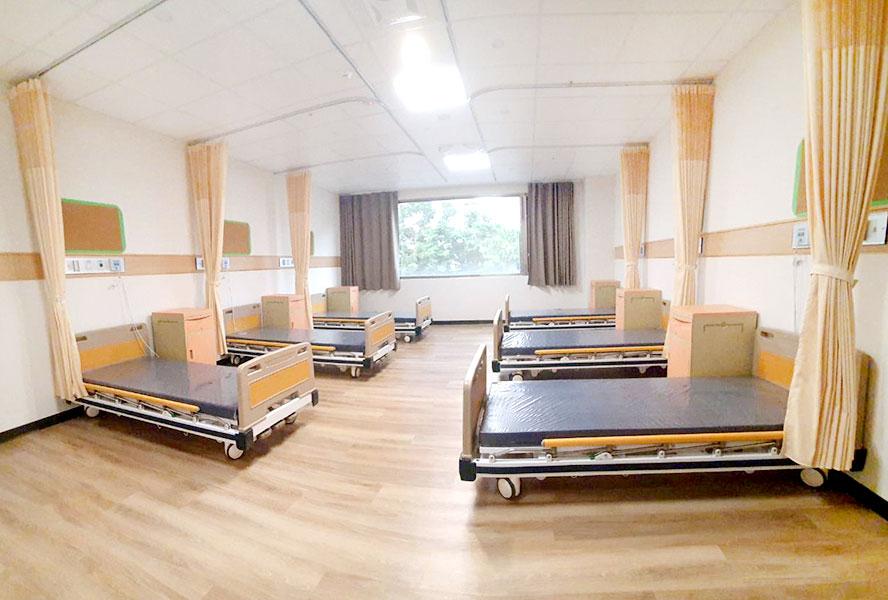 上和長照社團法人附設新北市私立迎合住宿長照機構-6人房