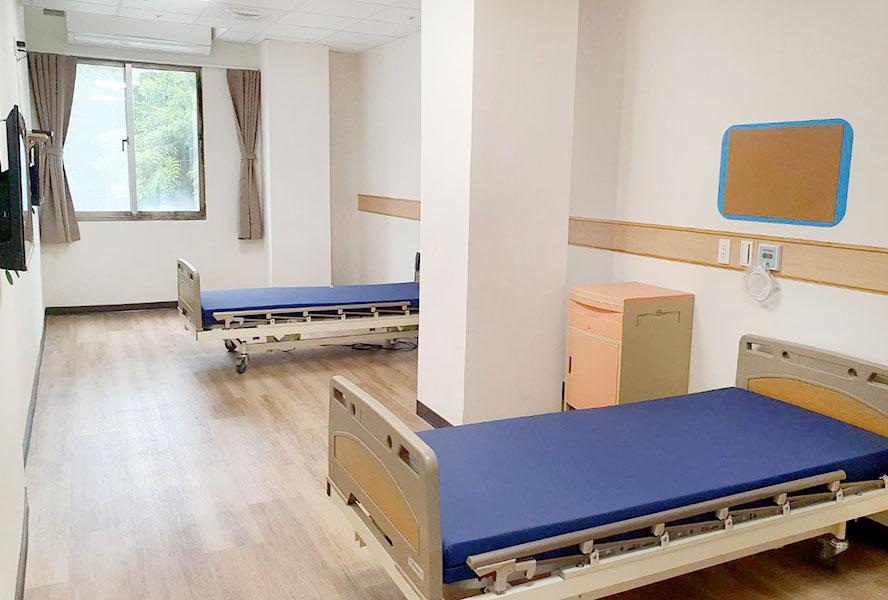 上和長照社團法人附設新北市私立迎合住宿長照機構-2人房
