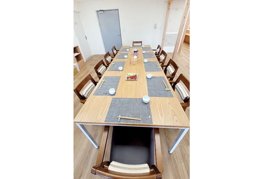 陶朱創生有限公司附設私立來共社區長照機構-餐桌