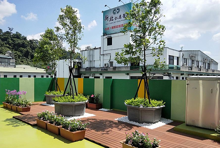 新北仁康醫院附設護理之家-空中花園