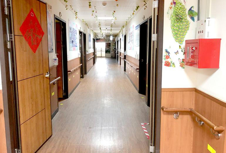 新北市國王護理之家-走廊
