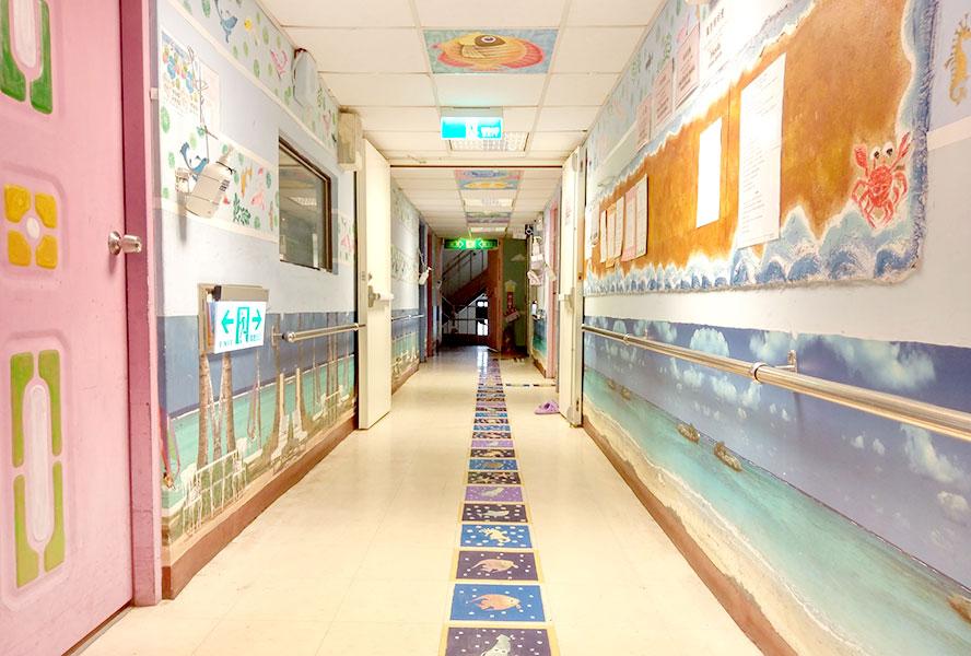 台中市德康護理之家-走廊