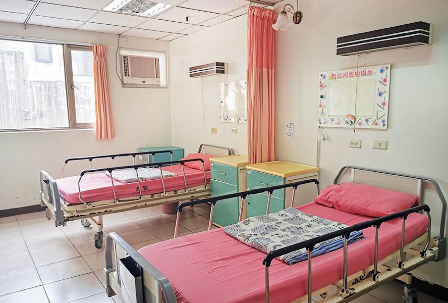 台中市九德大愛護理之家房間