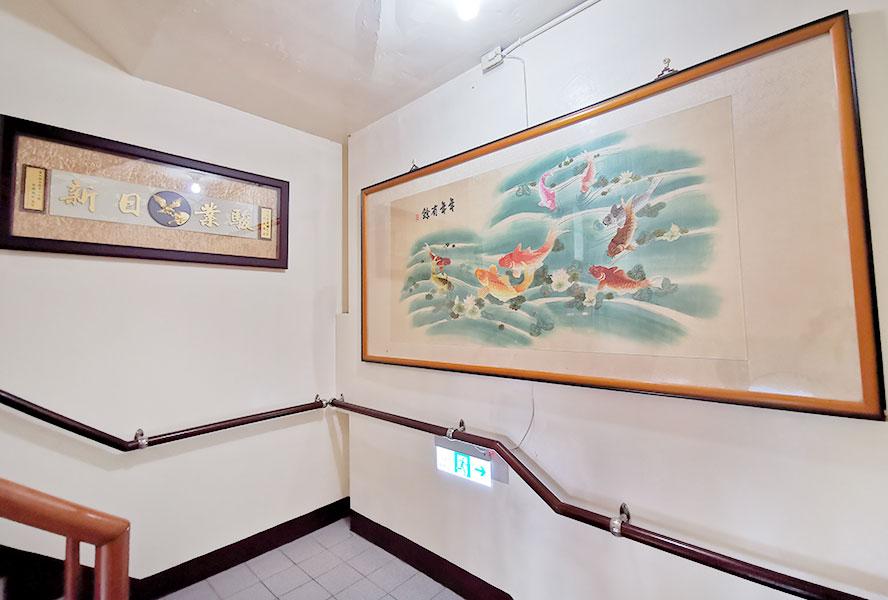 桃園市仁義護理之家-樓梯