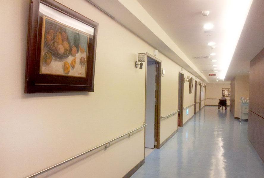 桃園市平鎮佳醫護理之家-走廊