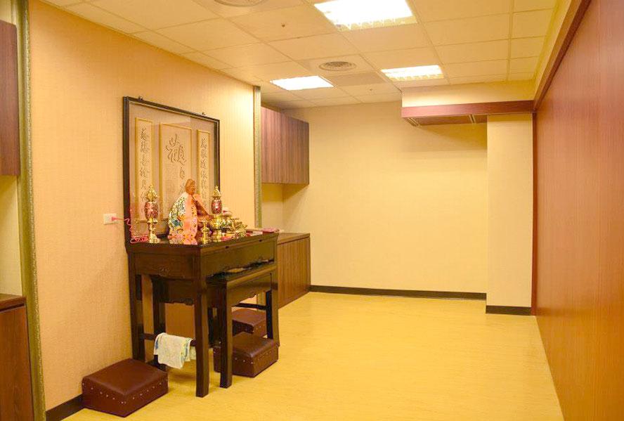 桃園市平鎮佳醫護理之家-宗教室1