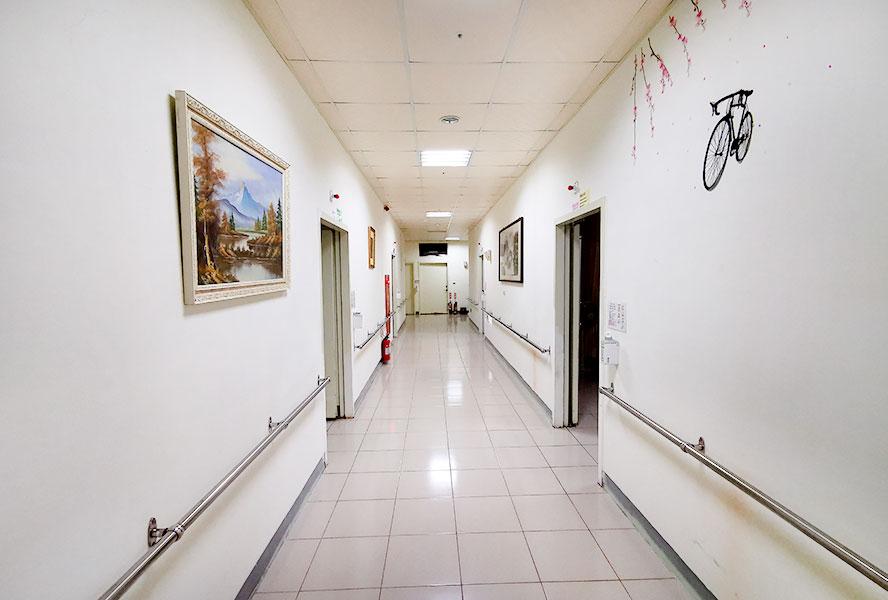 桃園市私立龍祥護理之家-走廊